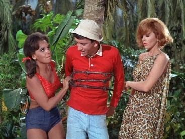 mary ann, gilligan, and ginger