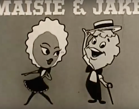 Maisie the Raisin and Jake the Flake