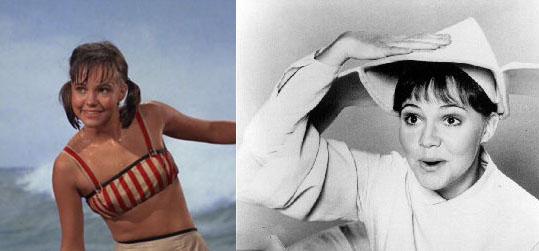 Sally Field as Gidget and Flying Nun