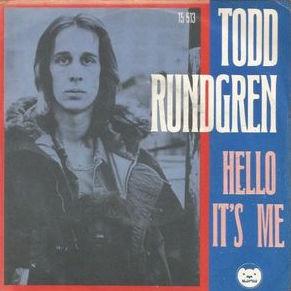 Todd Rundgren - Hello It's Me record cover