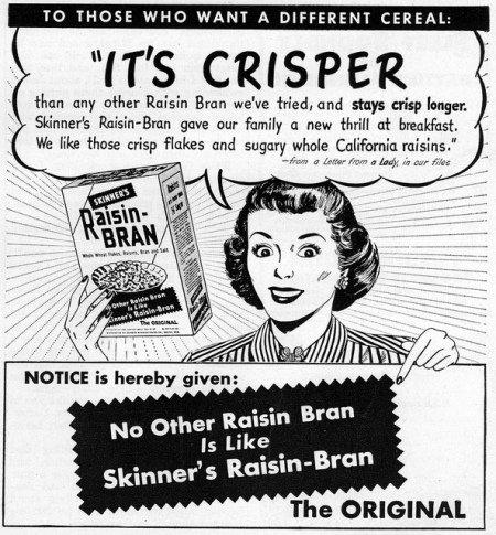 vintage raisin bran ad