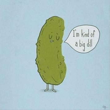 An immodest pickle
