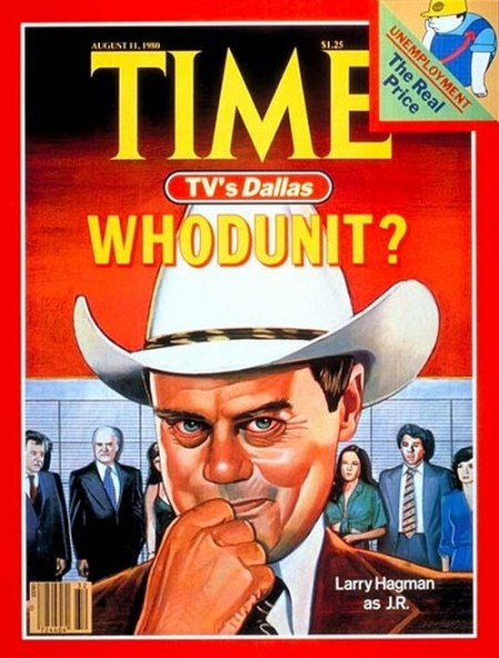 Time Magazine Who Shot JR cover