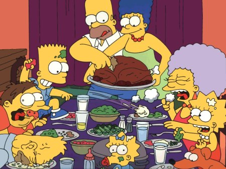 Simpsons Thanksgiving