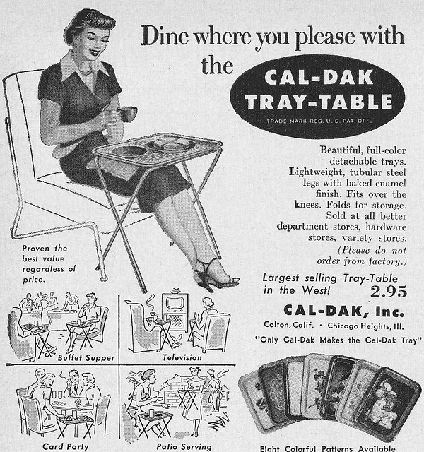 tray table ad