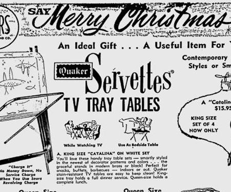 Servettes TV tray tables