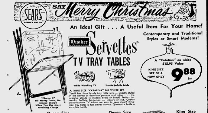 Servettes TV tray tables