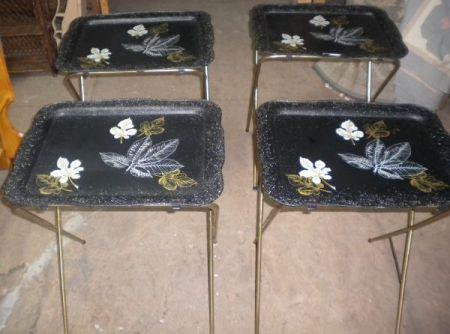 four TV trays