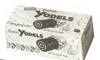 Vintage box of Drake's Yodels