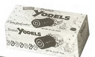 Vintage box of Drake's Yodels