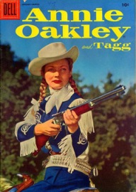 Annie Oakley book cover