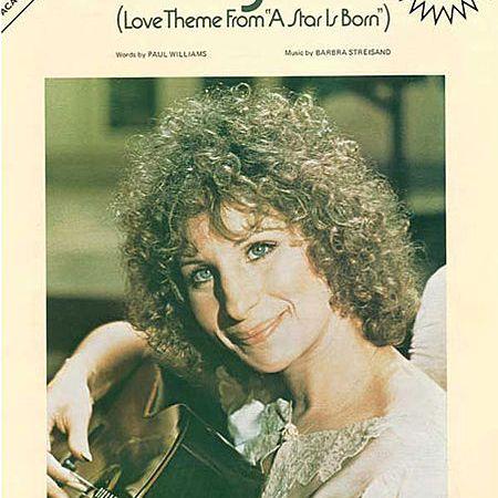 Barbra Streisand Evergreen sheet music cover
