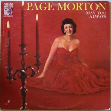 Page Morton album cover