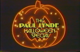 Paul Lynde Halloween Special opening graphic