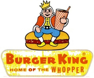 vintage Burger King logo