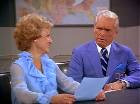 Betty White and Ted Knight