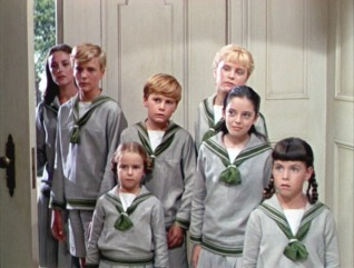 Von Tropp children Sound of Music