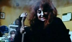 Witch stirs pot