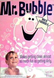 Mr. Bubble package