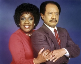 Louise and George Jefferson
