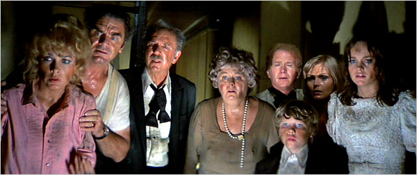 The cast of The Poseidon Adventure