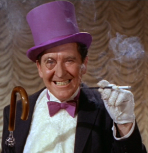 Burgess Meredith as The Pengin on Batman