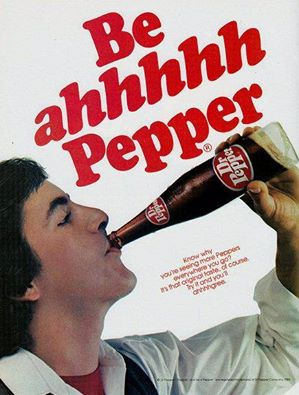 Be ahhhh Pepper print ad