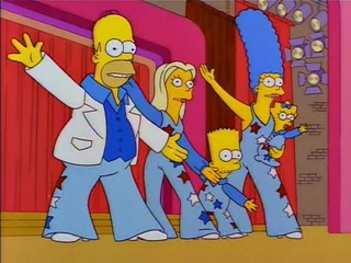The Simpson Family Smile-Time Variety Show with Fake Lisa