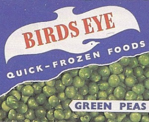 Birds Eye frozen peas