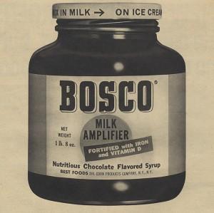 Vintage Bosco jar