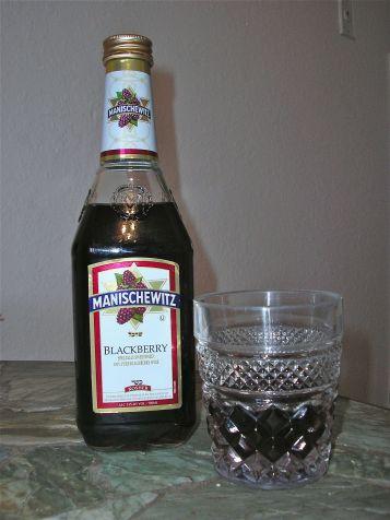 Manischewitz blackberry wine