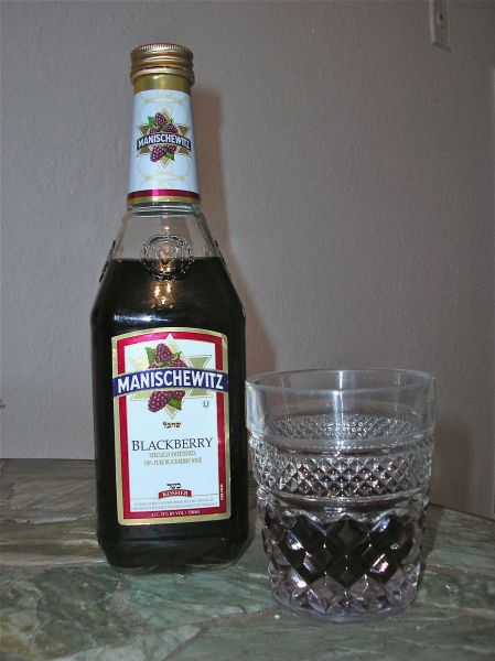 Manischewitz blackberry wine