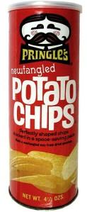 Vintage Pringles canister