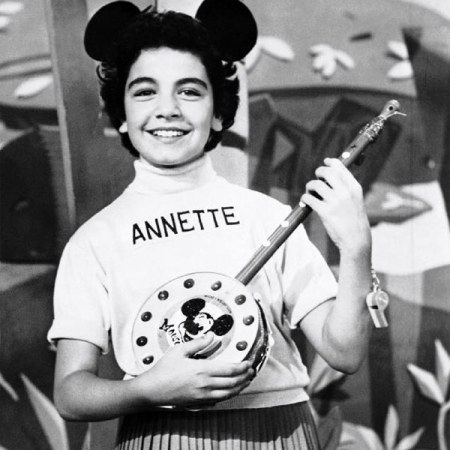 Annette Funicello as Mouseketeer