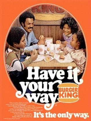 burger king print ad