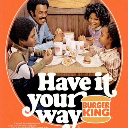 burger king print ad