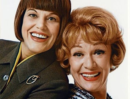 Kaye Ballard and Eve Arden