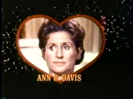 Ann B. Davis on Love American Style