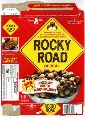 rocky road cereal