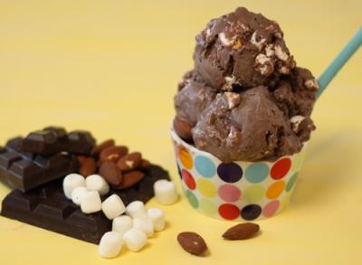rocky road ice cream