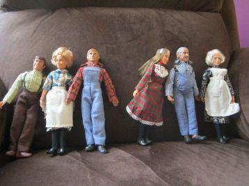waltons familiy dolls