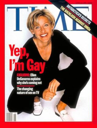 ellen degeneres time cover