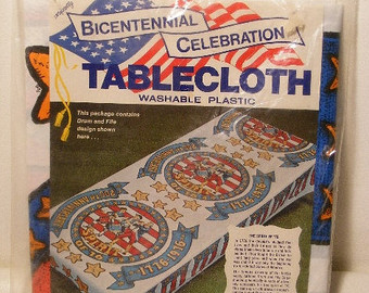 bicentennial tablecloth