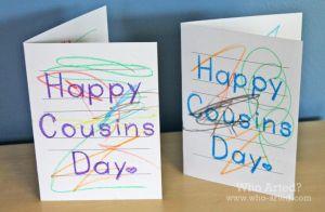 cousins day card