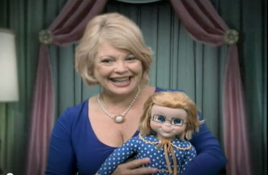 Kathy Garver and Mrs. Beasley