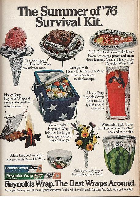1976 reynolds wrap ad