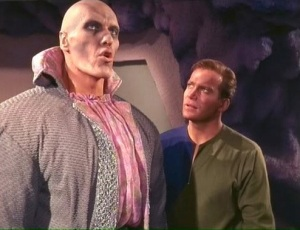 Ted Cassidy on Star Trek