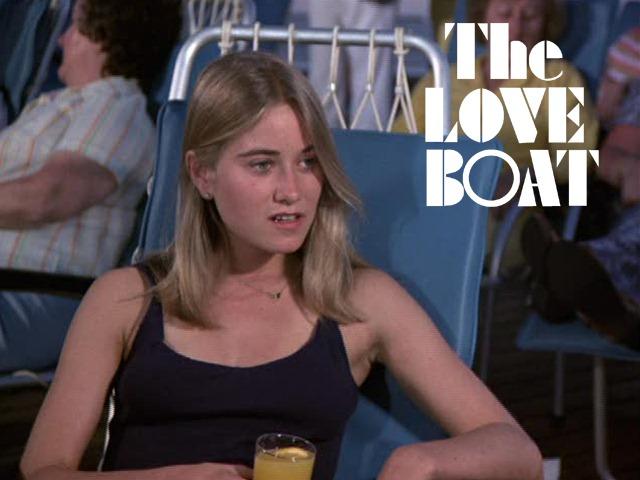 Maureen Mccormick On The Love Boat Michael S Tv Tray