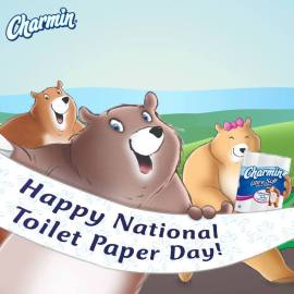 Happy National Toilet Paper Day