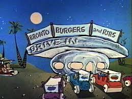 Flintstones drive-in